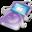 32x32 of ipod video violet apple