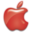 32x32 of Apple Logo Red