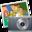 32x32 of iPhoto simpsons