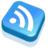 48x48 of RSS Feed Blue