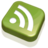 48x48 of RSS Feed Green