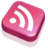 48x48 of RSS Feed Pink