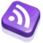 48x48 of Rss Purple