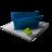 48x48 of Blue Folder Add