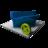 48x48 of Blue Folder Delete