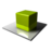 48x48 of Green Cube