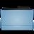48x48 of Folder blue (Leopard)