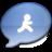 48x48 of iChat Aqua AIM