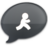 48x48 of iChat Black AIM