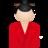 48x48 of Kimono women red