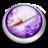 48x48 of Safari purple