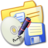 48x48 of Folder Yellow Backups