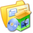 48x48 of Folder Yellow Software Mac