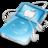 48x48 of ipod video blue apple