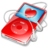 48x48 of ipod video red favorite