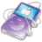 48x48 of ipod video violet apple