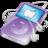 48x48 of ipod video violet apple