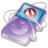 48x48 of ipod video violet no disconect
