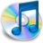 48x48 of iTunes blauw 2