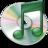 48x48 of iTunes mint groen