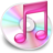 48x48 of iTunes roze