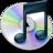 48x48 of iTunes zwart