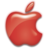48x48 of Apple Logo Red