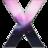 48x48 of X Au Pink