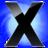 48x48 of X Circle Blu