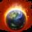 48x48 of Burning Globe