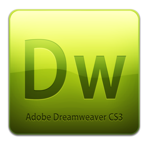 512x512 of Dw CS3 Icon (clean)