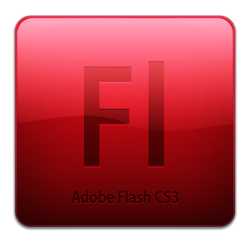 512x512 of Fl CS3 Icon (clean)