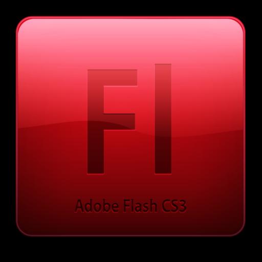 512x512 of Fl CS3 Icon (clean)