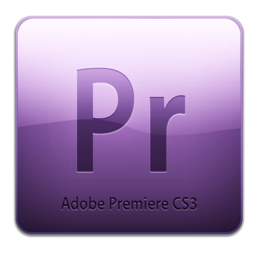 512x512 of Adobe Premiere CS3 Icon (clean)