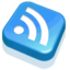 64x64 of RSS Feed Blue