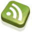 64x64 of RSS Feed Green