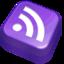 64x64 of Rss Purple