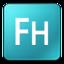 64x64 of Adobe FreeHand 12