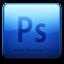 64x64 of Adobe Photoshop CS3 Icon (clean)