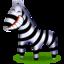 64x64 of Zebra