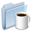 64x64 of Coffee Folder Badged