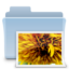 64x64 of Pictures Folder Badged