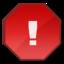 64x64 of Error Red