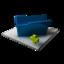 64x64 of Blue Folder Add