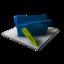 64x64 of Blue Folder Edit