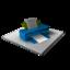 64x64 of Printer Blue