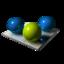 64x64 of Three Balls