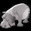64x64 of rhino