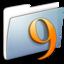 64x64 of Graphite Smooth Folder Classic