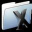 64x64 of Graphite Stripped Folder System